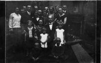 Kreibaum engagement, 1920