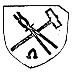 Altes Schmiedewappen Höfer