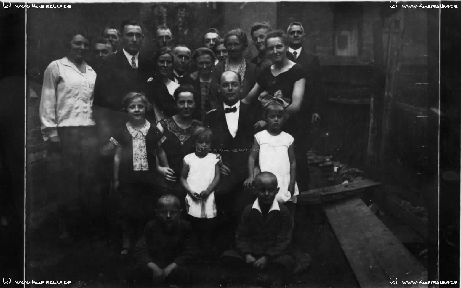 Verlobung Kreibaum 1920