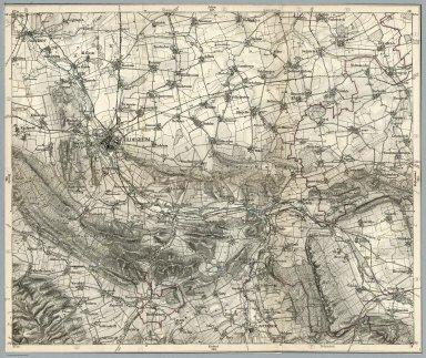 Karte Hildesheimer Umgebung