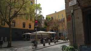 Platz in Barcelona